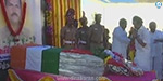 Police Inspector MK Stalin paid homage to the great Pandian body
