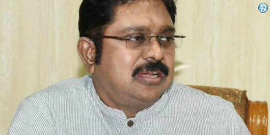 TTV dinakaran symbol allocated to the pressure cooker