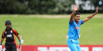 ICCU19WorldCup: India (67/0) beat PNG (64 all out) by 10 wickets to register second win of the tournament
