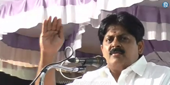Who can delete me and make me minister? Do not listen to the AIADMK There is no need for officials: minister