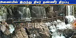Suddenly two-fold extra water cavity in the Kaveri: increased water flow to Akkanakkal Waterfalls
