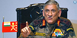 India will not hesitate to go to the next stage to break Pakistani attacks: Bipin Rawat