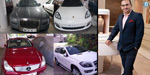ED seized 9 cars belonging to #NiravMod and his companies. These cars include one Rolls Royce Ghost, two Mercedes Benz GL 350 CDIs, one Porsche Panamera, 3 Honda cars, one Toyota Fortuner and one Toyota Innova.