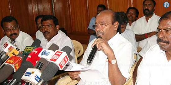 Jayalalithaa's picture in the assembly should be immediately removed: Ramdas asserting
