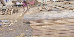 The productive labor livelihood is the question of the production of concrete, steel wire, and tube