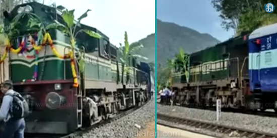 Punalur-wide railway tracks completed: Seven years after the train service