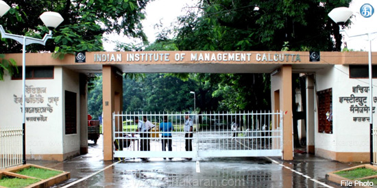 100% employment in campus interview for IIM students in Kolkata