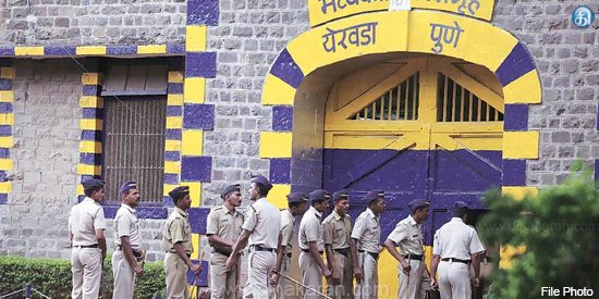 Prisoners are suddenly attacked by authorities in Erwada jail