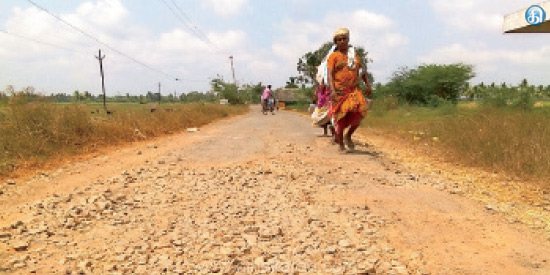 4 villagers who are without basic facilities near Seyyattopote