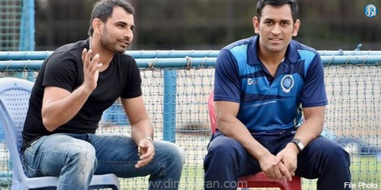 Shammi can not betray the country and wife: Dhoni certificate