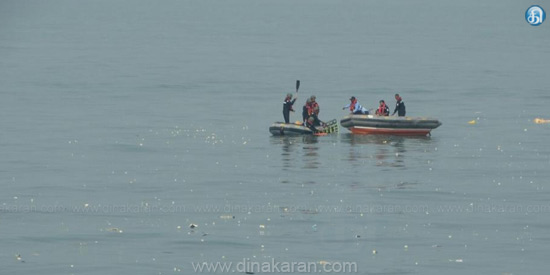 ONGC employees in Mumbai The helicopter fell into the sea 4 people's bodies recovery: 3 intensity of work seeking search