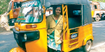 The first woman in Kumari is the auto driver who is the same for men