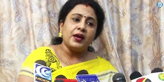 Anita Kuppasamy stepped away from the AIADMK