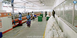 50 percent of jobs in Tirupur were not functioning because the workers did not return