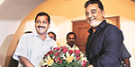 Delhi Chief Minister Arvind Kejriwal will attend the political conference of Kamal Hassan tomorrow