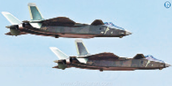Competing to the F-22 of America J-20 fighter aircraft Add to Chinese troops