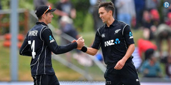 New Zealand won the series with hat-trick victory