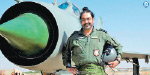 Air Force Commander flew to MiG 21