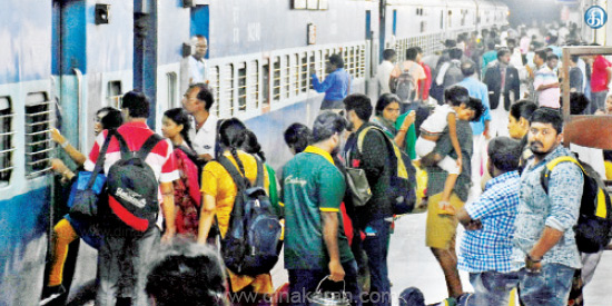 Pongal holidays: bus, crowds at railway stations