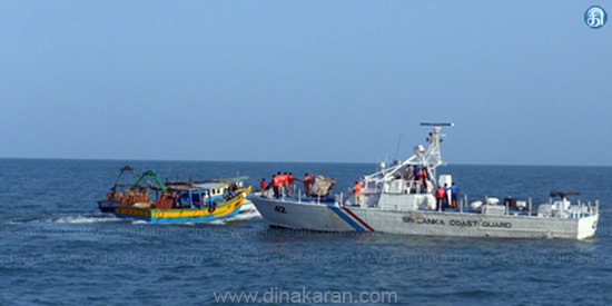 Sri Lankan Navy Atrocity: Attacking Tamil fishermen by throwing stones and bottles