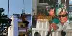 Kannada outfits in Bengaluru sudden fire: Tamil flag flags
