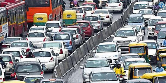 International conference leaders visit traffic congestion