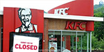 The problem with the chicken delivery company: KFC, which closes 900 branches in London