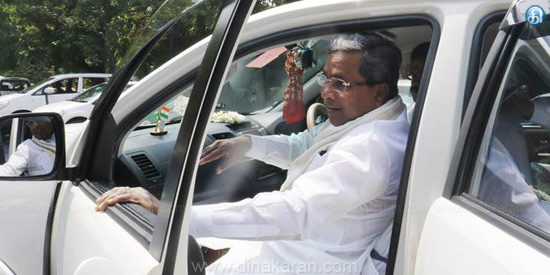 Water can not be opened from Cauvery to Tamil Nadu says Siddaramaiah
