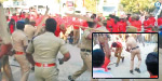 Thoothukudi: The police beat the Marxist rally: 4 people including a 5-year-old boy were injured