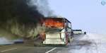 Kazakhstan bus fire kills 52 with few survivors