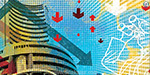 The Sensex plunged by 144 points in early trade