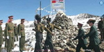 China's forces with modern weapons have increased the tensions in the Indian border