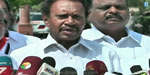 The central government does not listen to the sentiments of Tamils in the Cauvery case: Thambidurai