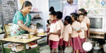 Continuing service for three years For the children of the hill Hmmm of food: A goodbye teacher near Andipatti