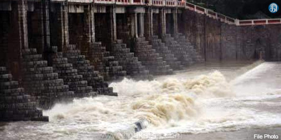 Additional water opening for the Chennai water from Pondi Lake