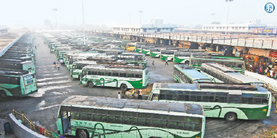 2.40 lakh people in the state buses in 2 days to celebrate Pongal festival