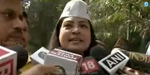 Aam Aadmi Party's fight against Home Minister Rajnath Singh's house in Delhi
