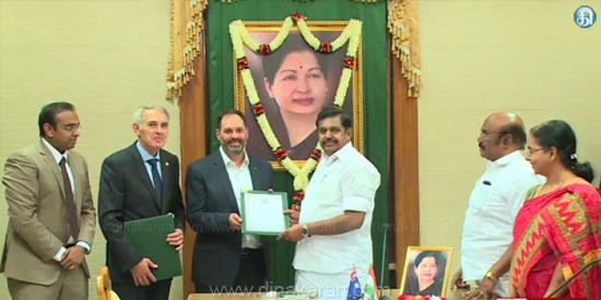 Agreement with Australia to increase fish production in Tamil Nadu