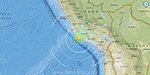 Magnitude 7.3 earthquake hits near coast of Peru, triggering tsunami threat