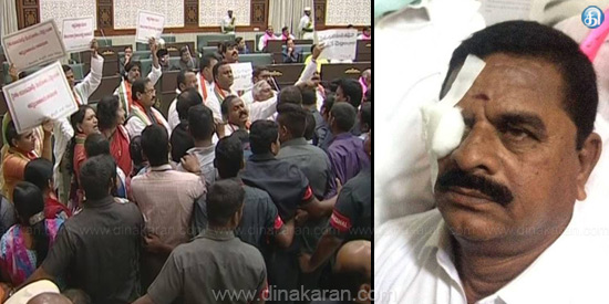 9 MLAs suspended in Telangana Assembly