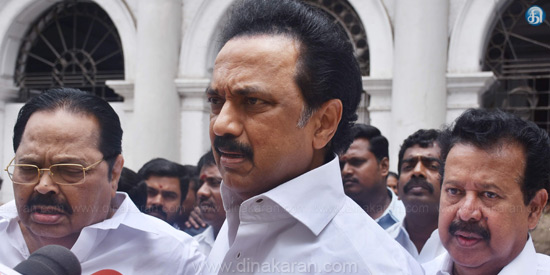 Can not accept criticism of poet Vairamuthu: Stalin condemns!