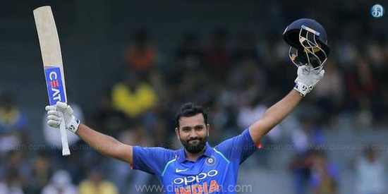 Rohit Sharma scored a hundred in the 5th ODI against South Africa