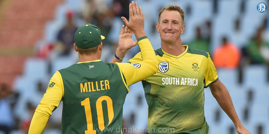 2nd T20 match against India: == South Africa won the match by wicket