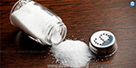 Over 40 times the salt is added to the body