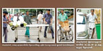 Government General Hospital patients in wheelchairs available tintattam
