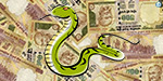 Snake bite victim: government subsidy of Rs 3 lakh