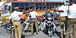 Collections to Rs 10 lakh 10 thousand people went without wearing a helmet