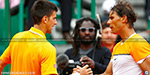 Djokovic in the quarter-finals up for grabs, with the chance to Nadal