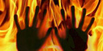 pregnant wife set on fire asking for extra dowry