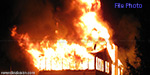 lack of money robbers set doctir house on fire